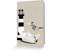 Fisher seagull Greeting Card