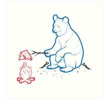 Da Bears - Camping Art Print