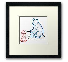 Da Bears - Camping Framed Print