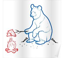 Da Bears - Camping Poster