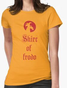 Shire of Frodo Womens Fitted T-Shirt