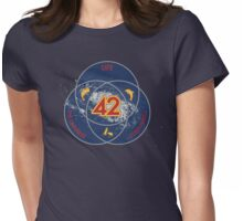 The Answer to Life, the Universe & Everything (Ultimate Venn Version) Womens Fitted T-Shirt