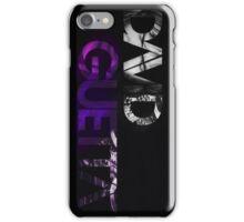 David Guetta logo black iPhone Case/Skin
