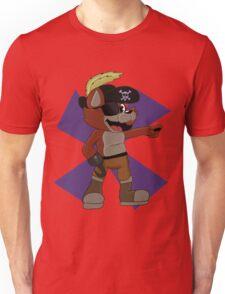 Foxy the Pirate Design  Unisex T-Shirt