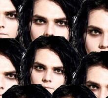 Gerard Way face  Sticker