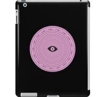 Flume circle iPad Case/Skin