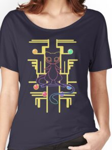 Ancient Mew - Black Background Women's Relaxed Fit T-Shirt