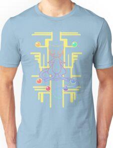 Ancient Mew - Black Background Unisex T-Shirt