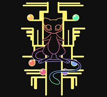 Ancient Mew - Black Background Womens Fitted T-Shirt