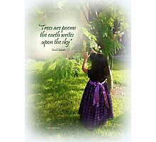 A Child in Nature Photographic Print