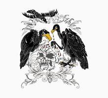 Buzzards Feeding on Monster Skull Unisex T-Shirt