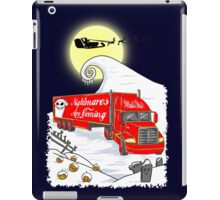 Nightmares Are Coming iPad Case/Skin