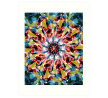 Tangent Abstract  Art Print