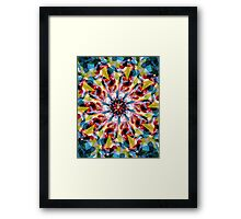 Tangent Abstract  Framed Print