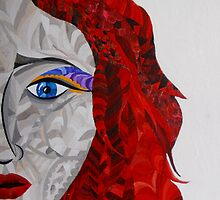 Red haired woman by bearsbears