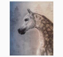 Arabian Horse - equine, equestrian, western art One Piece - Short Sleeve
