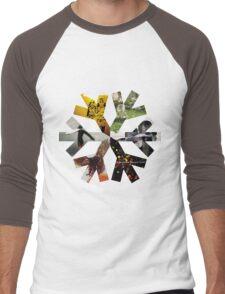 Snow Patrol Snowflake Albums Men's Baseball ¾ T-Shirt