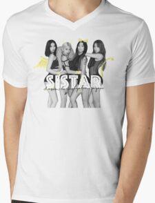 SISTAR Mens V-Neck T-Shirt