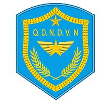 Emblem of the Vietnam People's Air Force Photographic Print
