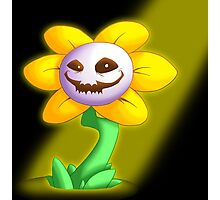 Flowey the Flower Photographic Print