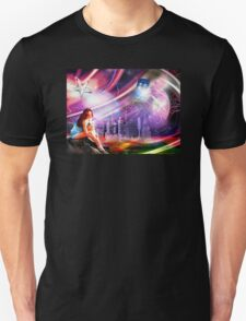Wishing on a star... for someone from afar Unisex T-Shirt