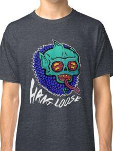 Hang Loose - Trippy Skater Monster T-Shirt/Sticker Classic T-Shirt