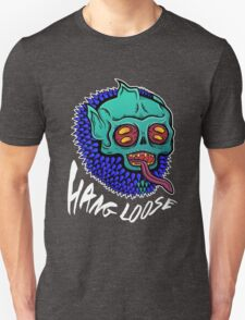 Hang Loose - Trippy Skater Monster T-Shirt/Sticker T-Shirt