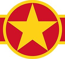 Roundel of Vietnam People's Air Force  by abbeyz71