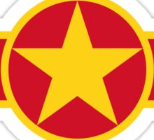 Roundel of Vietnam People's Air Force  Sticker