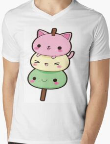 Cute Kawaii Kitty  Mens V-Neck T-Shirt