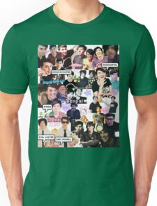 Dan and Phil Phan collage part 2 Unisex T-Shirt