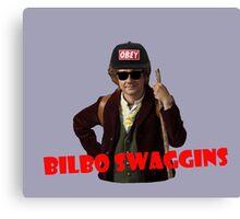 Bilbo-Swaggins Canvas Print