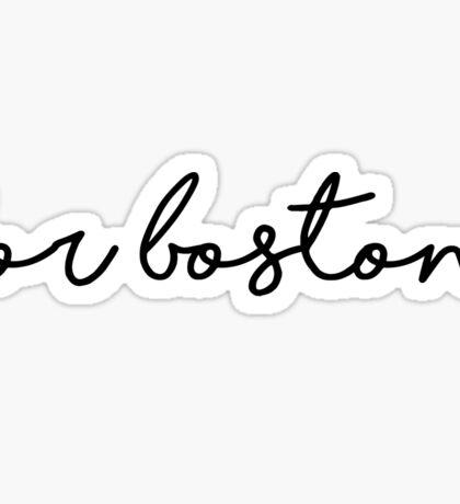 For Boston Sticker Sticker