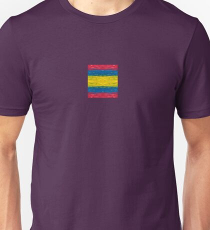 Primary Colors Pattern #2 Unisex T-Shirt