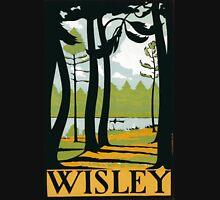 Vintage poster - Wisley Unisex T-Shirt