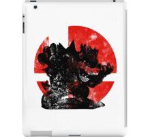 Bowser Smash - Red iPad Case/Skin