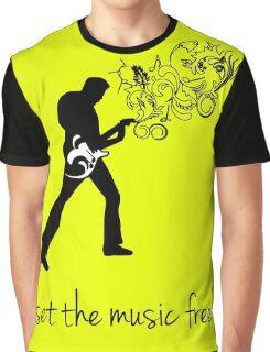set the music free! Graphic T-Shirt