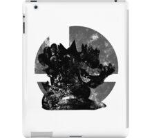 Bowser Smash - Dark Grey iPad Case/Skin