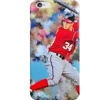 Bryce Harper Batting II iPhone Case/Skin