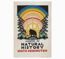 Vintage poster - South Kensington Kids Tee