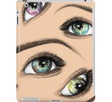 Stare at me iPad Case/Skin