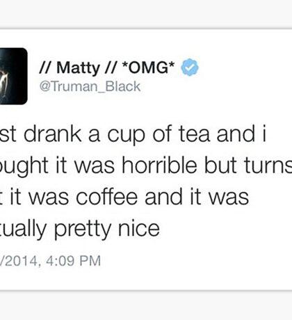Matty Healy Tweet Sticker