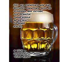 Vital Beer Photographic Print