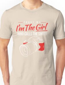 Photographer Girl Unisex T-Shirt