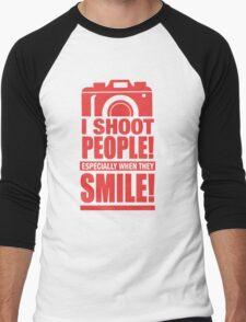 Photographer - I Shoot People Men's Baseball ¾ T-Shirt