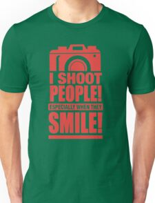 Photographer - I Shoot People Unisex T-Shirt
