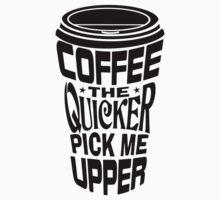 Coffee Quicker One Piece - Short Sleeve