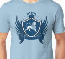 Blue Royal Crest With Lion Unisex T-Shirt