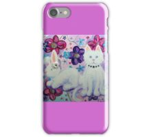 Bunny and Cat iPhone Case/Skin