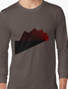 Trig - Red Long Sleeve T-Shirt